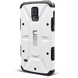 Urban Armor Gear Case Samsung Galaxy S5 with Screen Protector Kit - White Mobile phones