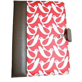 Orla Kiely Kindle Fire Book Case - Birdwatch Cream/Red E-Readers