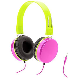 Griffin Crayola MyPhones Over Head Wired Headphones For Kids - Pink (GC36540) Audio