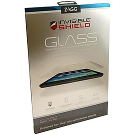 Zagg InvisibleShield Glass Screen Protector Guard For iPad mini Retina - Clear Tablet