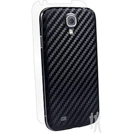 BodyGuardz Armor Carbon Fibre Protective Skin For Samsung Galaxy S4 - Black Mobile phones