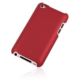 Moshi iGlaze Touch G4 Hard Shell iPod Touch 4G Case - Red Audio