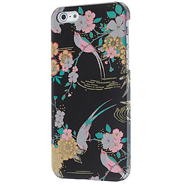 Accessorize Clip-On Hard Shell Case Cover for iPhone 5/5S - Black Birds Mobile phones
