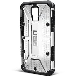 ACC Urban Armor Gear Composite Case with Screen Protector Kit for Samsung Galaxy S5 - Ice/Black Mobile phones
