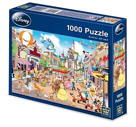 King 1000 Piece Puzzle Disneyland Traditional Games