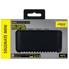 JABRA SOLEMATE MINI BLUETOOTH SPEAKER WIRELESS PORTABLE - BLACK Audio