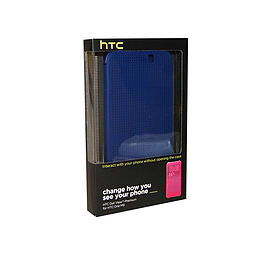 HTC Dot View Flip Case For HTC One M9 HC M231 - Blue Mobile phones