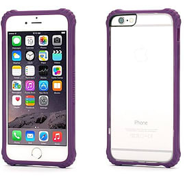 Genuine Griffin Survivor Clear Case Cover Apple iPhone 6 - Purple BRAND NEW Mobile phones