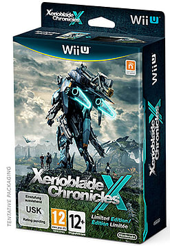Xenoblade Chronicles X Limited Edition Wii U Cover Art