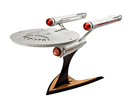 U.S.S. Enterprise NCC-1701 1:600 Scale Model Kit Figurines and Sets