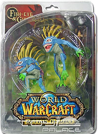 World Of Warcraft S4 Murloc 2-pack: Gibbergill Figurines and Sets