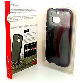 Tech 21 D30 Impact Mesh Slim Case Cover for HTC One M8 - Smokey Mobile phones