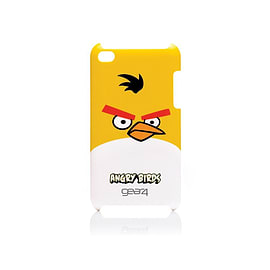 Gear 4 Angry Birds Hard Shell Clip-On Case Cover for iPod Touch 4th Generation - Yellow Bird Audio