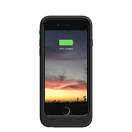 Mophie 2750 mAh Juice Pack Air Cover Battery Charger Case iPhone 6 Black NEW Mobile phones