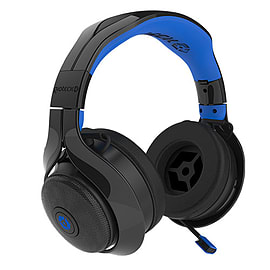 FL-400 Wireless RF Stereo Headset - Black/Blue Multi Format and Universal