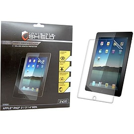 Zagg invisibleSHIELD HD Apple iPad 2 3 4 With Retina Display Full Body Screen Protector Clear Tablet