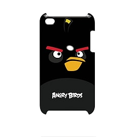 Gear4 Angry Birds Hard Clip-On Case Cover for iPod Touch 4th Generation - Black Bird Audio