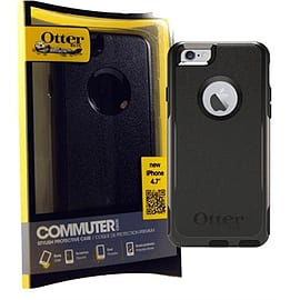 Otterbox Commuter Series Tough Case For iPhone 6 (4.7 inch) - Black Mobile phones