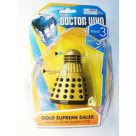 Doctor Who Gold Supreme Dalek Wave 3 Figurines and Sets