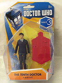 Doctor Who The Tenth Doctor Wave 3 in Blue Suit Figurines and Sets
