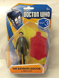 Doctor Who The Eleventh Doctor in Green Coat Wave 3 Figurines and Sets