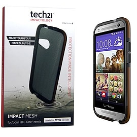 Tech 21 Impact Mesh Case Cover Shell for HTC One Mini 2 D30 Brand New Tough Retail Mobile phones