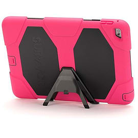 Griffin Survivor Hard Rugged Case for iPad Air 2 Pink/Black Tablet