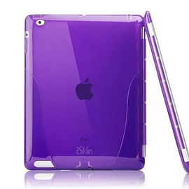 iSkin solo Smart Back Cover For New iPad 3 & iPad 2 / Purple Tablet