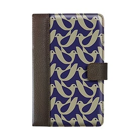 Orla Kiely Book Case For Kindle Fire Birdwatch (Cream & Navy) E-Readers