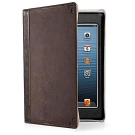 Twelve South BookBook Leather Case For iPad Mini (Vintage Brown) Tablet