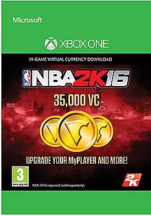 NBA 2K16 35,000 VC XBOX ONE