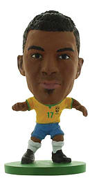 Soccerstarz - Brazil Luiz Gustavo - Home Kit /figures Figurines and Sets