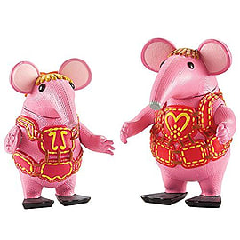Clangers Collectable Figures - Tiny and Mother Clanger Figurines and Sets