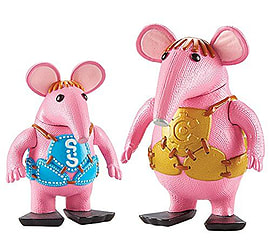 Clangers Collectable Figures - Small and Major Clanger Figurines and Sets