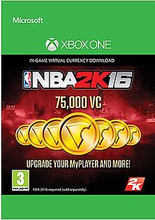 NBA 2K16 75000 VC XBOX ONE