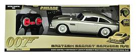 James Bond 50th Anniversary R/C British Secret Service Skyfall Figurines and Sets