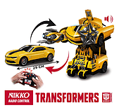 Nikko Transformers R/C Bumblebee Transforming screen shot 1