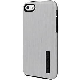 Incipio DualPro Shine Case for iPhone 5c - Silver/Black Mobile phones