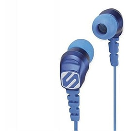 Scosche thudBUDS Noise Isolation Headphones - Blue Audio