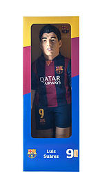 Bubuzz - Luis Suarez - Fc Barcelona Football Figure Doll Sports Doll /toys Figurines and Sets