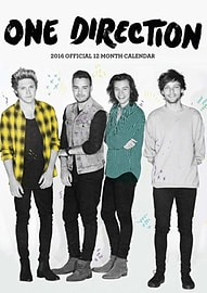 One Direction 2016 Calendar Books