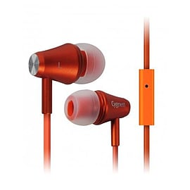 Cygnett Fusion II Headphones With Mic And Remote For iPod iPhone And iPad (Orange) Audio