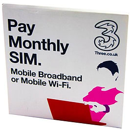Three Mobile Pay Monthly Sim Card NEW & SEALED Mobile phones