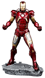 Avengers Movie Iron Man Mark VII Artfx Statue Figurines and Sets
