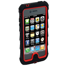 Gumdrop Drop Tech Series Case for iPhone 5 - Black/Red Mobile phones