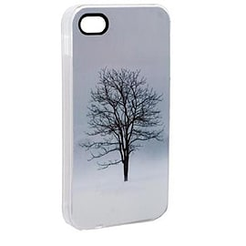 Glittery Frozen Tree iPhone 4/4S case by VENOM Mobile phones