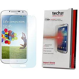 Tech21 Impact Shield Screen Protector for Samsung Galaxy S4 Mobile phones