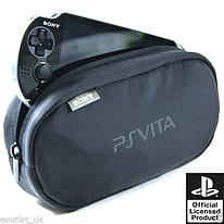 Genuine Official Sony PlayStation Vita Travel Pouch Carry Case Bag NEW PS Vita