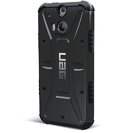 Urban Armor Gear Composite Case with Screen Protector Kit for HTC One M8 - Black Mobile phones