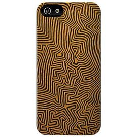 Cygnett Icon Ronnie Tjampitjinpa Art Case For iPhone 5 - Echidna Dreaming Mobile phones